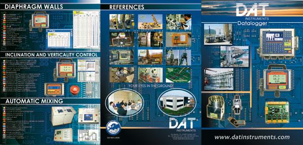 DAT instruments, Registrador de datos para Geotecnia y Fundaciones Especiales, Catálogo