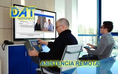 DAT instruments, registrador de datos, Asistencia remota