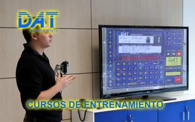DAT instruments, registrador de datos para Geotecnia y Fundaciones Especiales, Cursos de entrenamiento