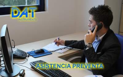 DAT instruments, servicios, Asistencia preventa