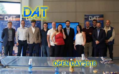 DAT instruments, open day 2018, formacion