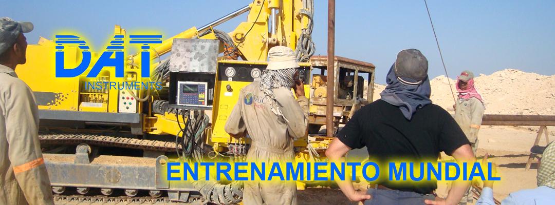 DAT instruments, datalogger, entrenamiento mundial