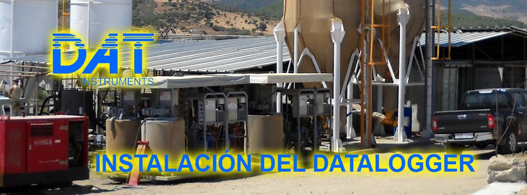 DAT instruments, datalogger, instalación, sistemas de inyección