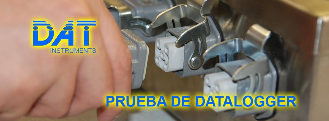 DAT instruments, datalogger, producción, prueba producto