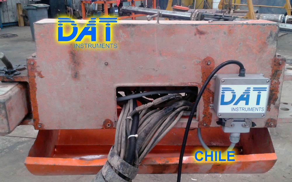 DAT instruments, Chile, 2014, JET SDP - IB, perforaciones, conector