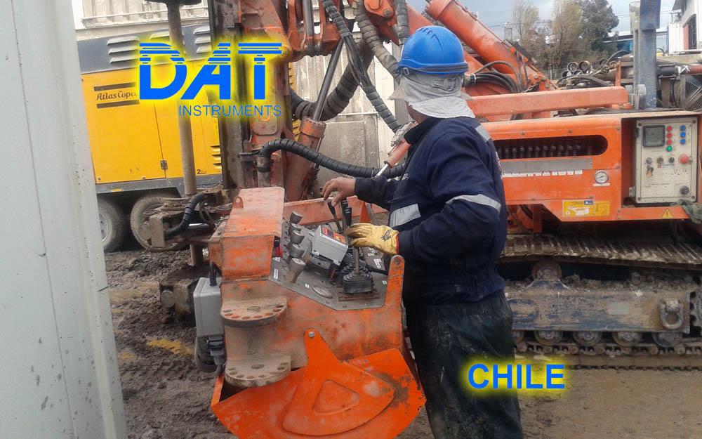 DAT instruments, Chile, 2014, JET SDP - IB, perforaciones, personalización productos