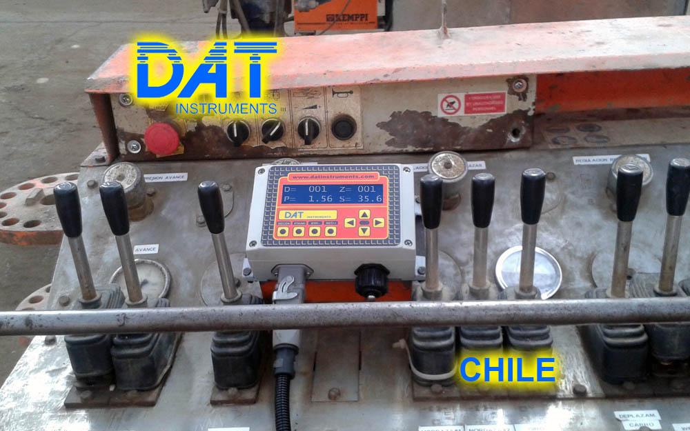 DAT instruments, Chile, 2014, perforaciones, JET SDP - IB, en uso, personalización productos