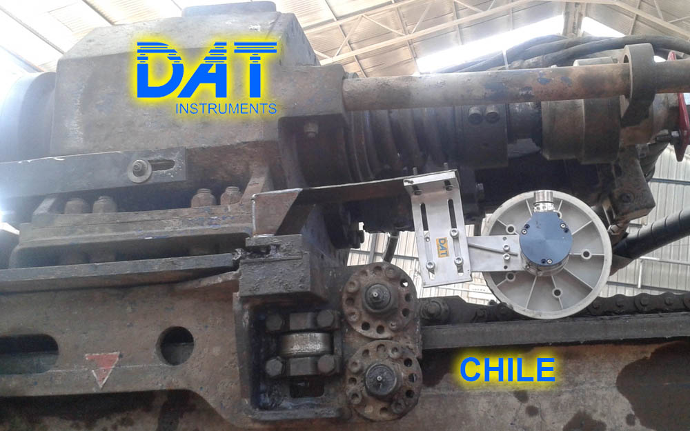 DAT instruments, Chile, 2014, perforaciones, JET SDP - IB, JET DEPTH2, sensor profundidad