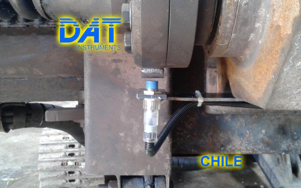 DAT instruments, Chile, 2014, JET SDP - IB, perforaciones, sensor de rotación, personalización productos