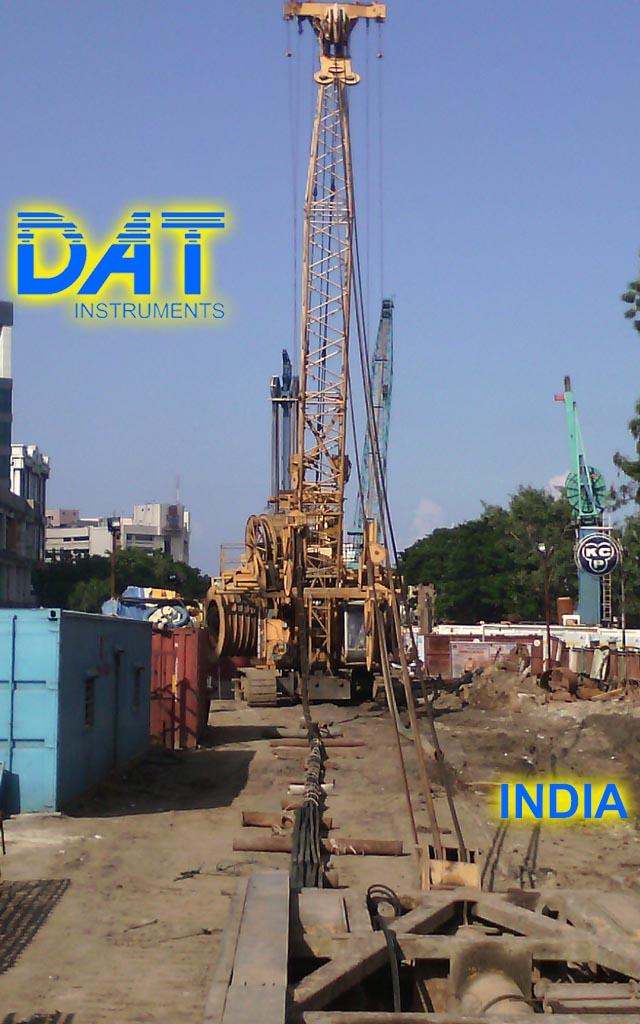 DAT instruments, India, Hidrofresa, diafragmas, JET DSP 100 D, obra, hidrofresa