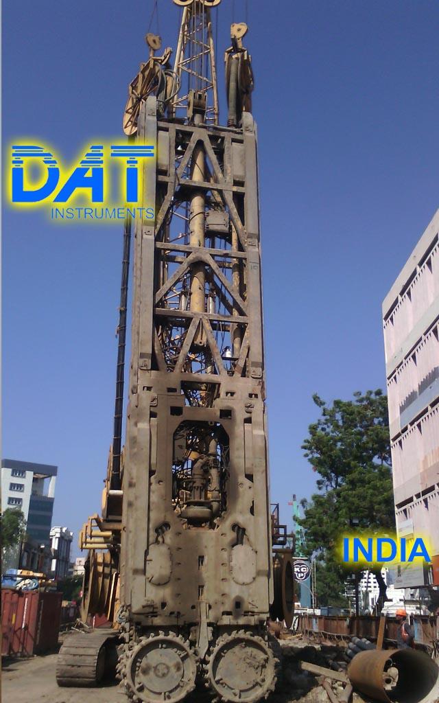 DAT instruments, India, Hidrofresa, Excavación de diafragmas, JET DSP 100 D