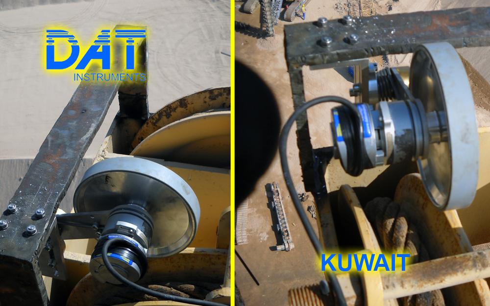 DAT instruments, Kuwait, Sheikh Jaber Al-Ahmad Al-Sabah, JET DEPTH2, sensor de profundidad para Sand compaction piles (SCP)