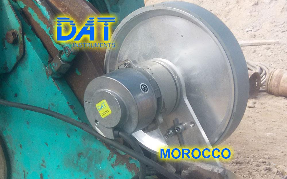 DAT instruments, Marruecos, Puerto de Nador, JET DEPTH2, sensor de profundidad para excavación de diafragmas
