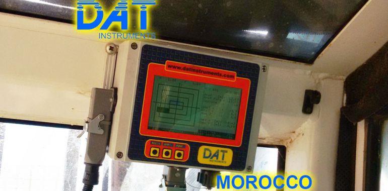 DAT instruments, Marruecos, Puerto de Nador, JET DSP 100 - D, Datalogger para excavación de diafragmas, dWalls