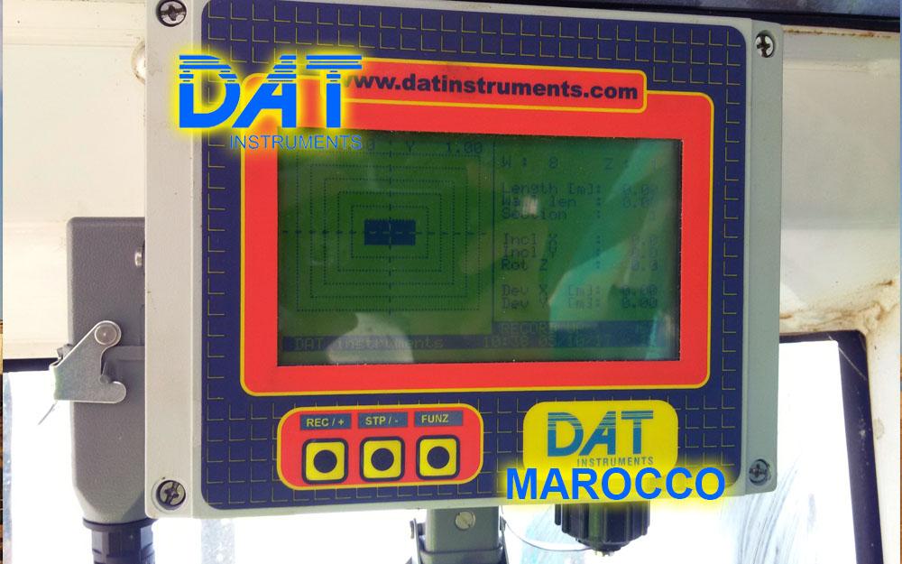 DAT instruments, Marruecos, Puerto de Nador, JET DSP 100 - D, Datalogger para excavación de diafragmas