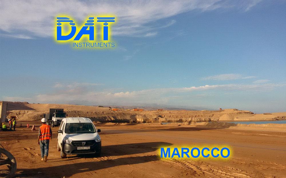DAT instruments, Marruecos , Puerto de Nador, DWalls