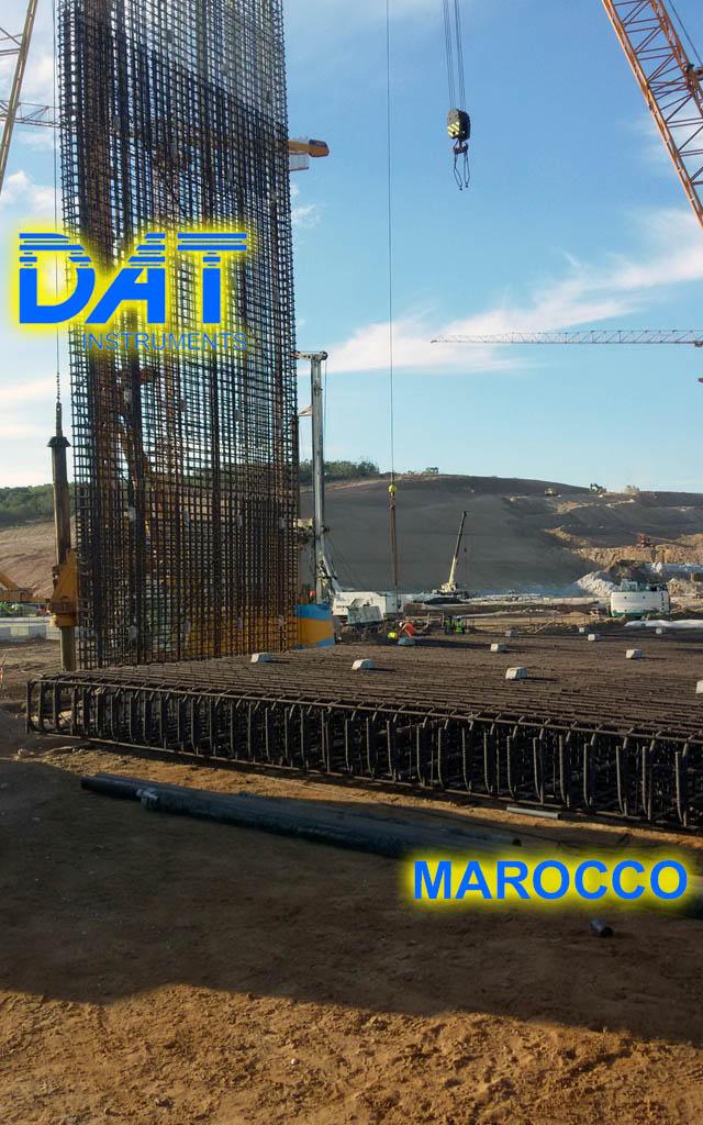 DAT instruments, Marruecos, Puerto de Nador, obra, dWalls