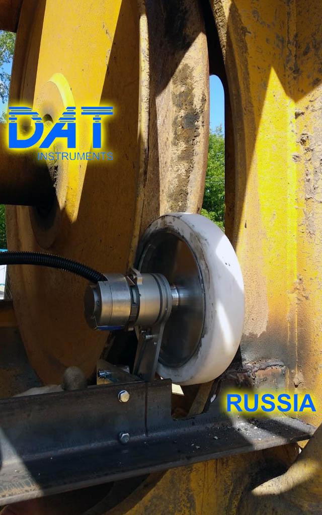 DAT instruments, Rusia, JET DSP 100 D, excavación de diafragmas, JET DEPTH2, sensor de profundidad, datalogger para la metropolitana de Moscù