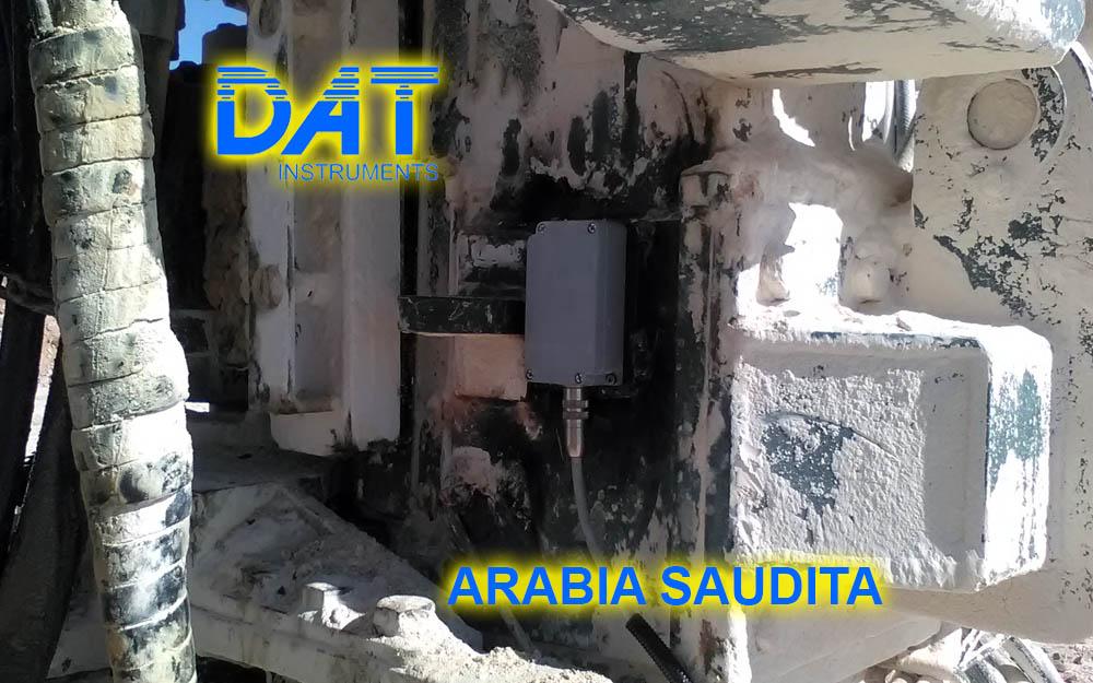 DAT instruments, Arabia Saudita, sondaje géotecnico, JET 4000 AME J, JET SDP IB, JET INCL XY, inclinómetro biaxial