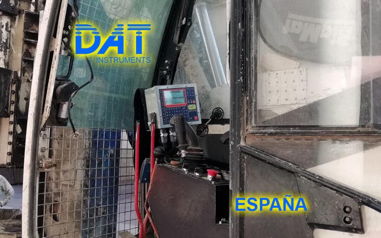 DAT instruments, JET 4000 AME J MM, datalogger, perforadora, España, trabajos de soil mixing certificados