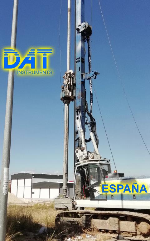 DAT instruments, JET 4000 AME J MM, datalogger, perforadora en la obra, España