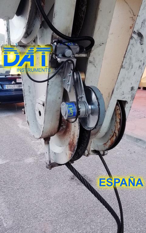 DAT instruments, JET 4000 AME J MM, datalogger, sensor de profundidad, JET DEPTH2, España, trabajos de soil mixing certificados