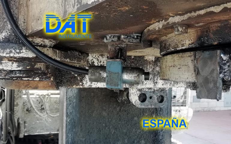 DAT instruments, JET 4000 AME J MM, datalogger, sensor de rotacion, JET ROT, España