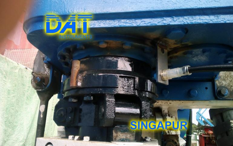 DAT instruments, Singapur 2018, datalogger, jet grouting simple fluido, JET ROT, cuentagolpes