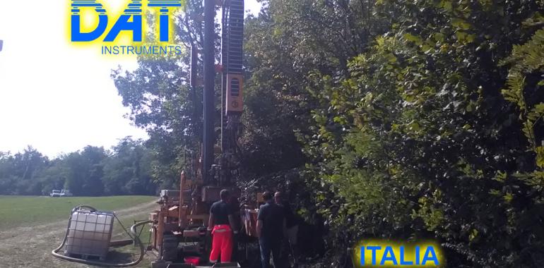 DAT instruments, datalogger, JET SDP IB, estudios de suelo, obra, perforadora
