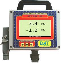 DAT instruments, datalogger controllo verticalità mast