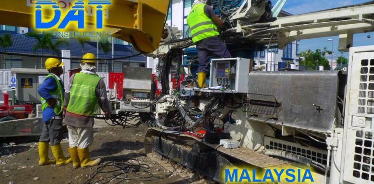 Malaysia, datalogger, jetgrouting