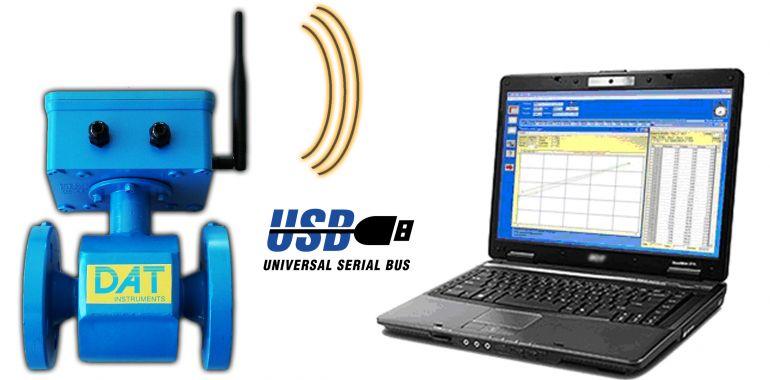DAT instruments, JET FLOW, elettromagnetico wireless