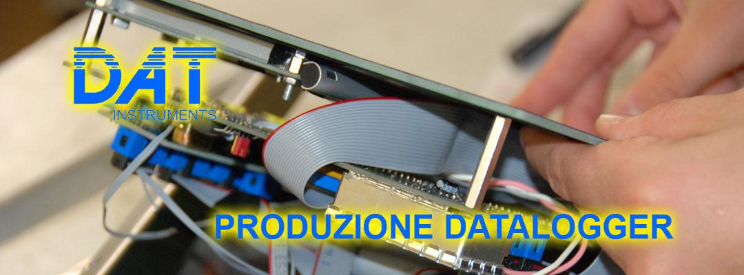 DAT instruments, datalogger, produzione, assemblaggio