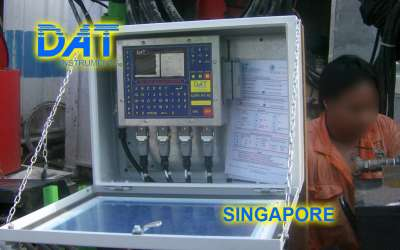 DAT instruments, JET 4000 AME / J, datalogger per jet grouting, Singapore