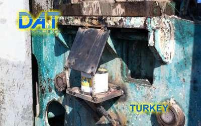DAT instruments, JET DSP 100 / D, datalogger per scavo di diaframmi, sensore di inclinazione e rotazione benna, Turchia