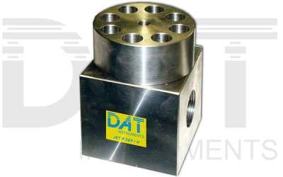 DAT instruments, JET P SEP / H, salvamanometro passante, max 600 bar