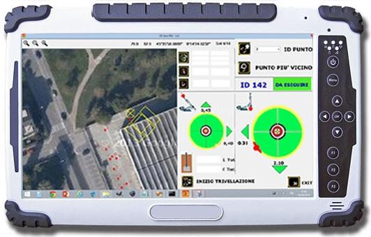 DAT instruments, tablet per il sistema GPS