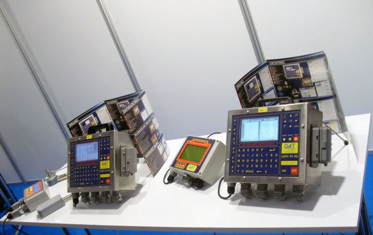 DAT instruments, data logger, Bauma 2016