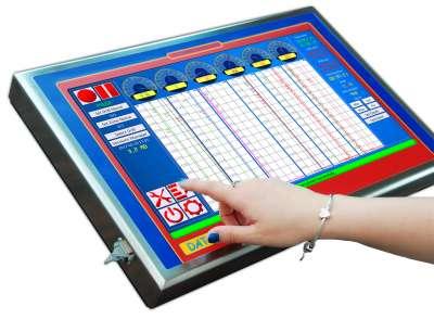 DAT instruments, DAT WideLog, datalogger per perforazioni, touch screen