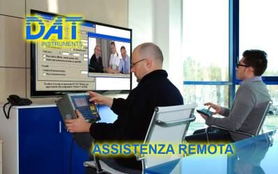 DAT instruments, assistenza clienti, assistenza remota