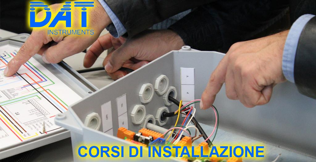 DAT instruments, datalogger per geotecnica e fondazioni speciali, corsi di installazione