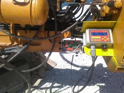 DAT instruments, Italia, Taranto, JET SDP / IB, datalogger per perforazioni, installazione in cantiere