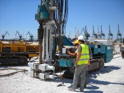 DAT instruments, Italia, Taranto, JET SDP / IB, datalogger per perforazioni, utilizzo semplice