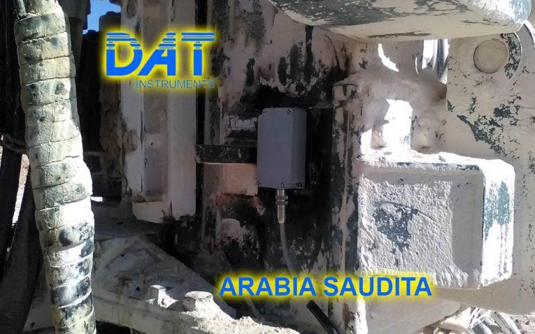 DAT instruments, Arabia Saudita, Diagrafie, JET 4000 AME J, JET SDP IB, JET INCL XY, inclinometro biassiale