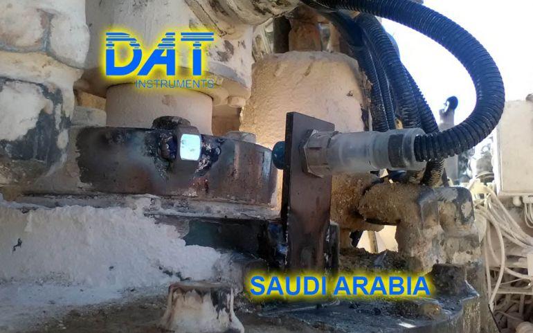 DAT instruments, Saudi Arabia, MWD, JET 4000 AME J, JET SDP IB, datalogger for MWD, strokecounter, JET ROT