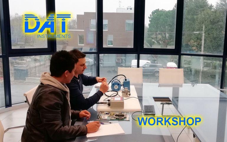 DAT Workshop, visita in azienda, training, datalogger, jetgrouting, drilling, dwalls