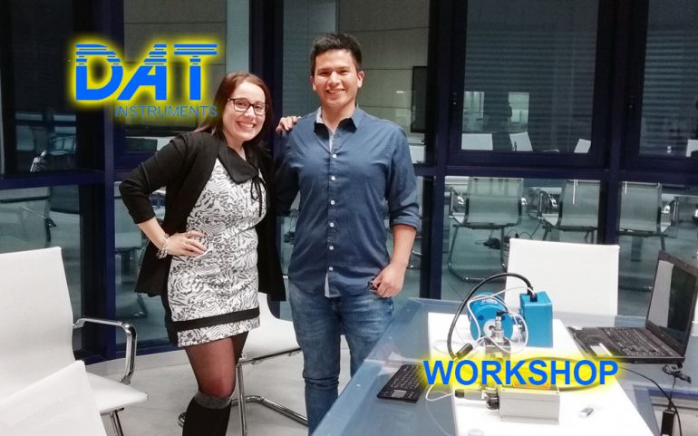 DAT Workshop, visita in azienda, Jorge e Giusi, training