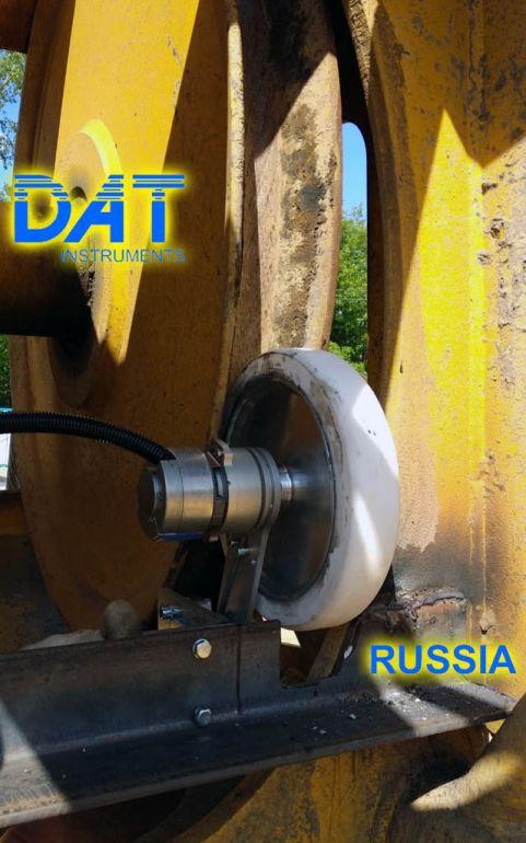 DAT instruments, Russia, JET DSP 100 D, scavo di diaframmi, JET DEPTH2, sensore profondità