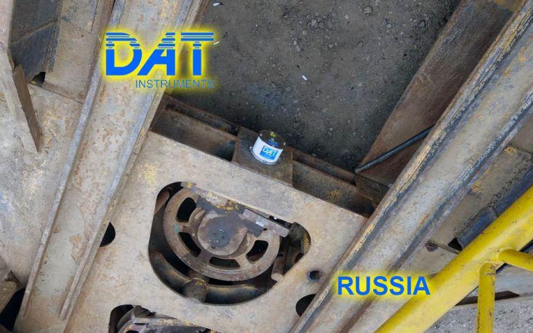 DAT instruments, Russia, JET DSP 100 D, scavo di diaframmi, JET WXYZ, sensore inclinazione, inclinometro