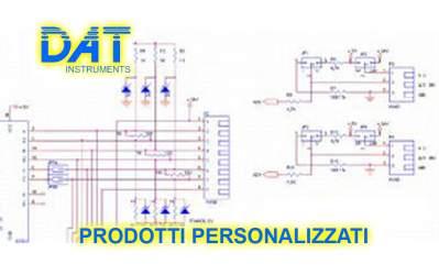 DAT instruments, datalogger personalizzati, prodotti personalizzati